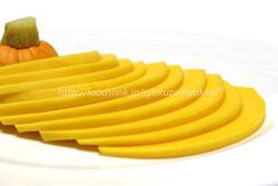 コリンキー=生でも食べられる黄色いカボチャ