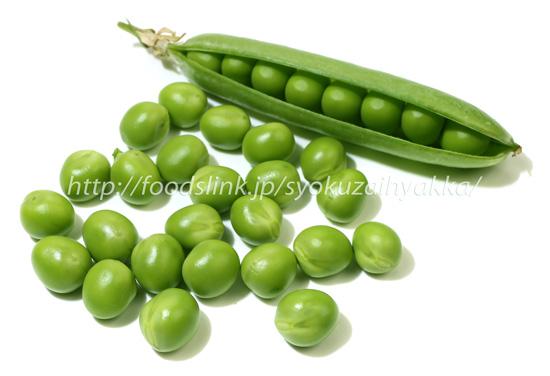 グリーン ピース 栄養