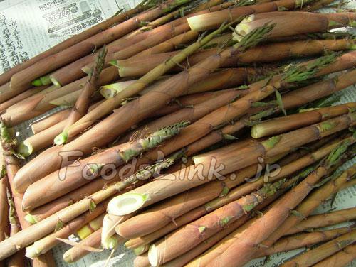 細い竹 食べる